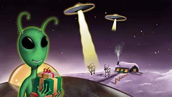 Alien Season's Greetings