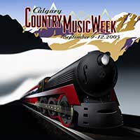 Canadian Country Music Week Poster Illustration